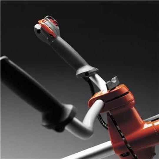 Barra impugnature regolabile Barra impugnature regolabile e dal design ergonomico per il miglior comfort.