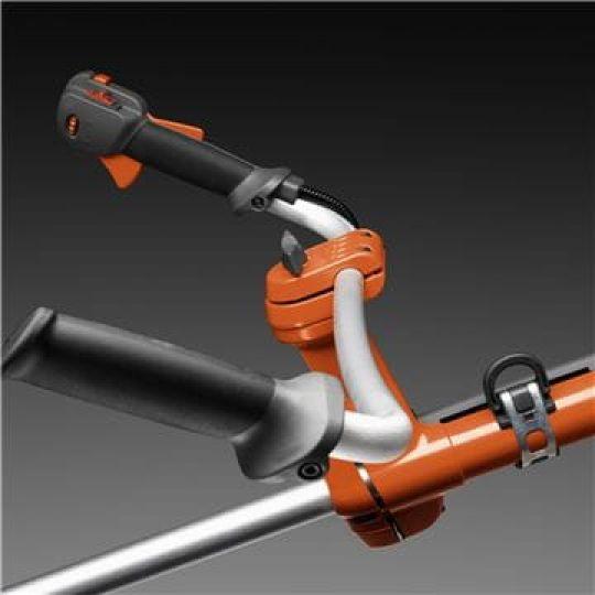 Design ergonomico La barra angolata e le impugnature confort forniscono una presa eccellente e un'ottima posizione di lavoro.