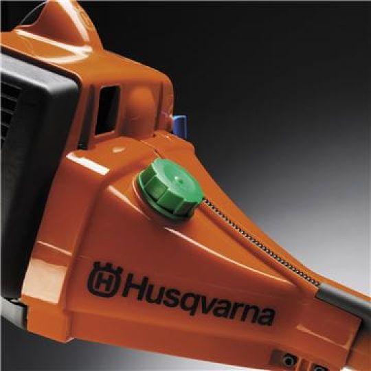Serbatoio trasparente del carburante Serbatoio trasparente del carburante per un facile controllo del livello.