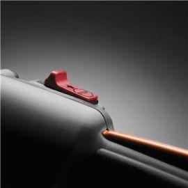 Pulsante di stop a ritorno automatico L'interruttore di stop torna automaticamente in posizione ON per avviamenti senza problemi.